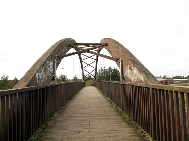 Bridge over the A523