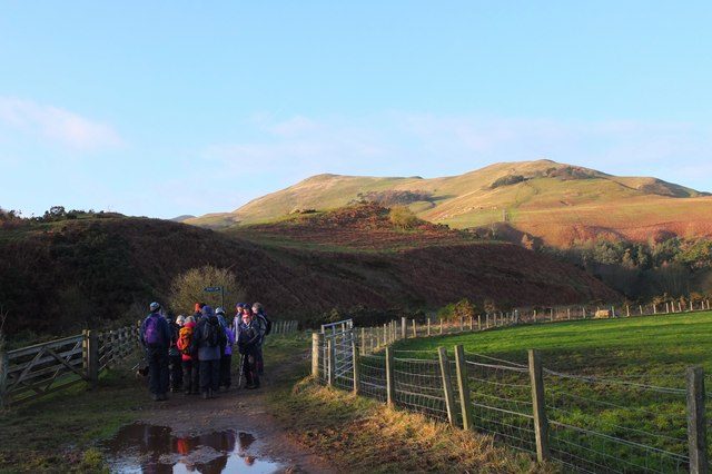 Track to Turnhouse Hill, Pentlands