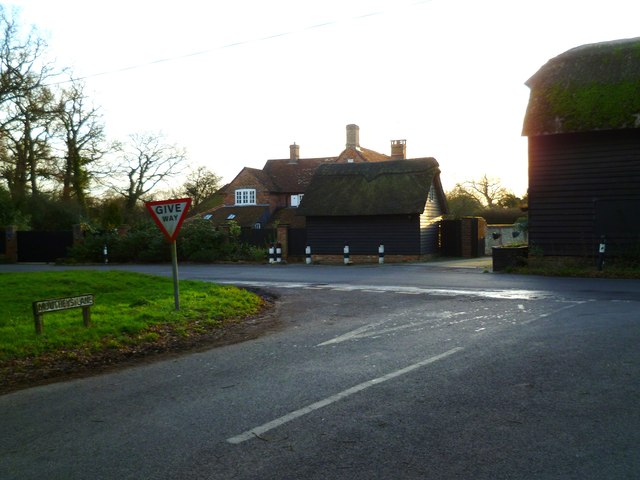 The southern end of Mouthey's Lane