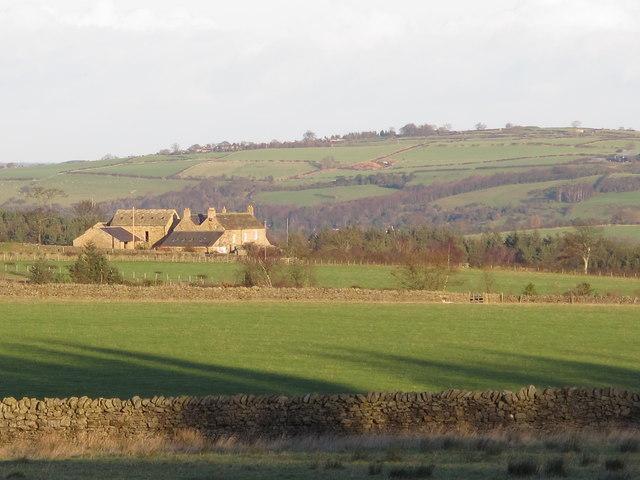 Farmland southwest of Fotherley Buildings