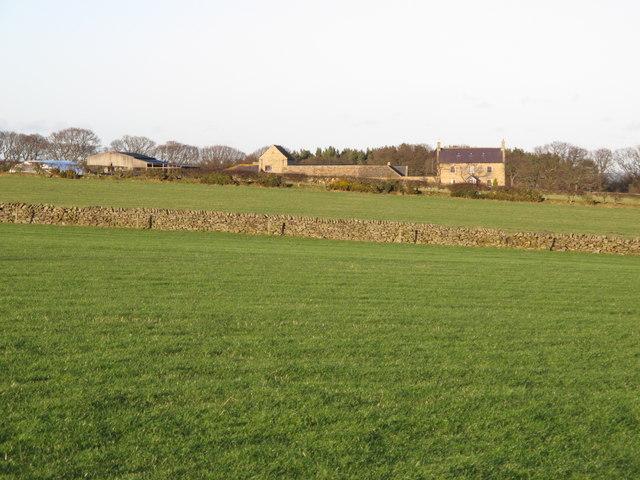 Farmland south of Low Fotherley