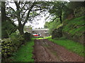 NY5846 : Footpath leading to Davygill Farm by Les Hull