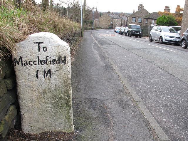 Milestone to Macclesfield