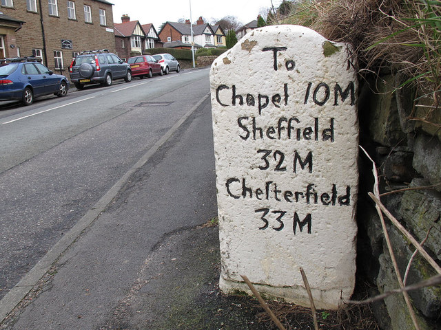 Milestone to Sheffield