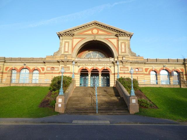 Palm Court Entrance, Alexandra Palace N22