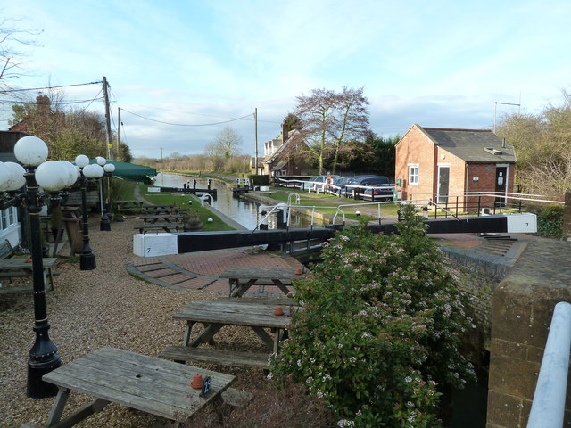 Lock 7, Grand Junction Canal - Buckby Top Lock