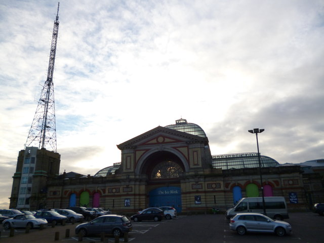 Ice rink and tv mast, Alexandra Palace N22