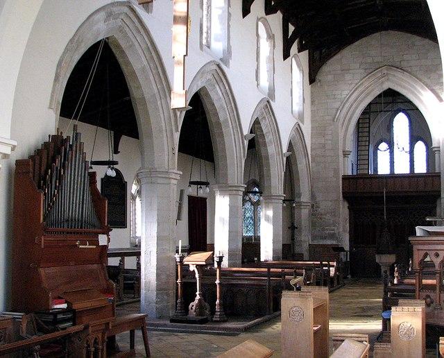 Swaffham Bulbeck: St Mary - south aisle