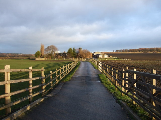 Track to Skelton Moor Farm
