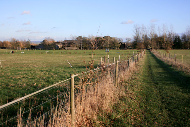 Diverted Footpath by North Farm