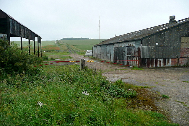 Buildings at Larkwhistle Farm