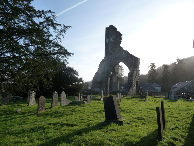 Talley Abbey ruins