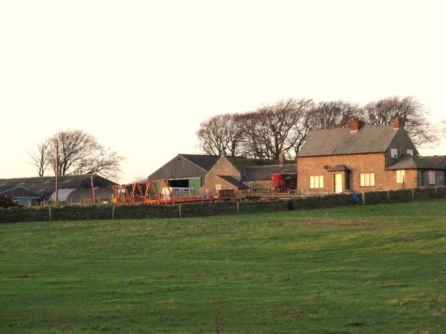 Farm buildings at West Minsteracres