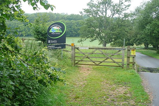 Entrance to Avington Park