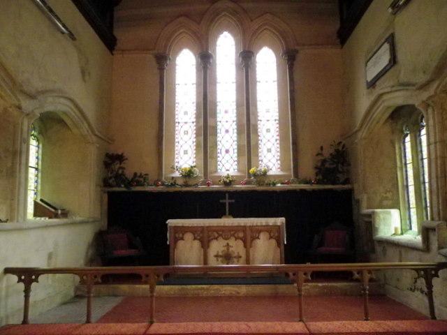 Interior, St Peter's Church