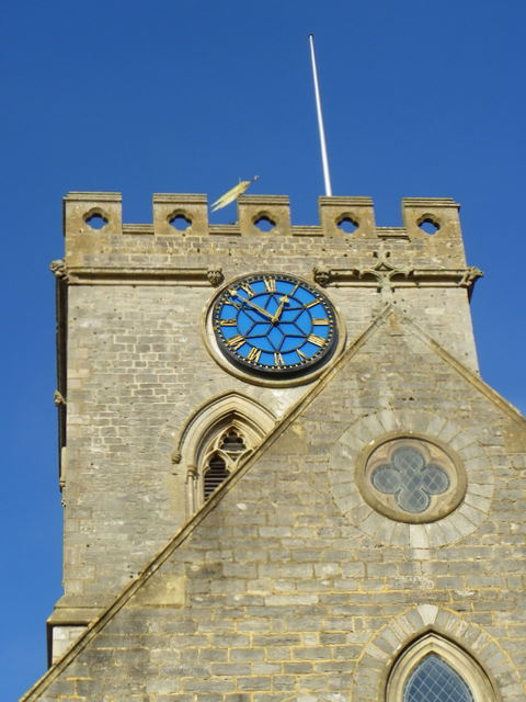 Church tower, Sts Peter and Paul Church, Ringwood