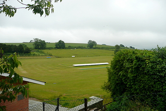 Easton cricket pitch