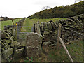 SJ9476 : Stile and gate by Stephen Craven