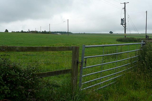 Towards Shoulder of Mutton Farm