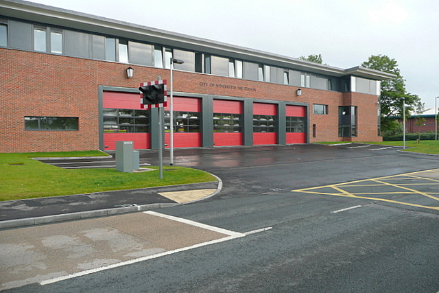 City of Winchester fire station
