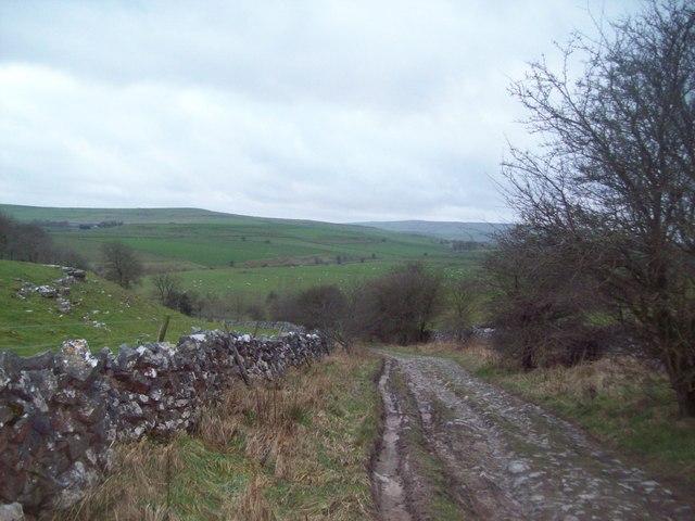 The Pennine Bridleway Near Hay Dale