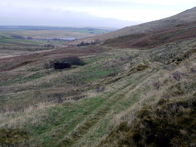 Track south-west of Howgill