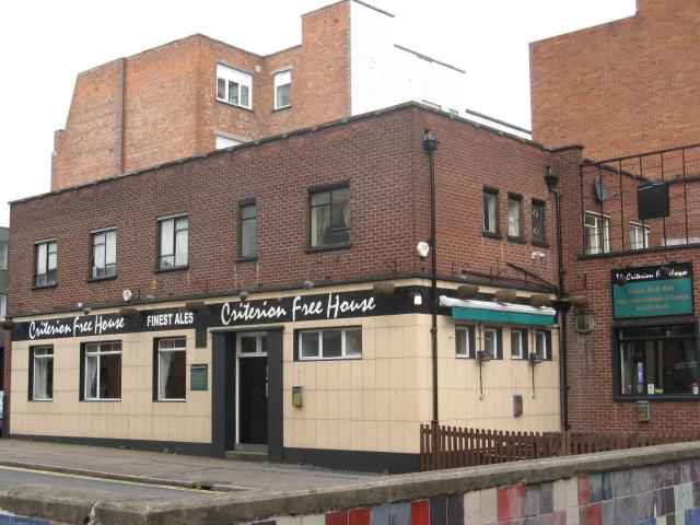 Leicester Criterion Pub