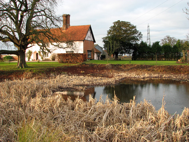 Pond by College Farm, Hintlesham