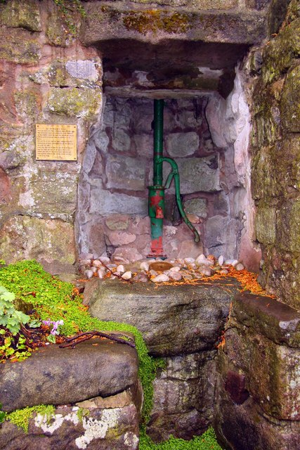 St Patrick's Well on Main Street