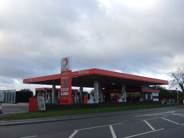 Service station on the A63
