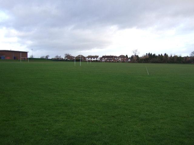 Sports fields, Garforth Community College