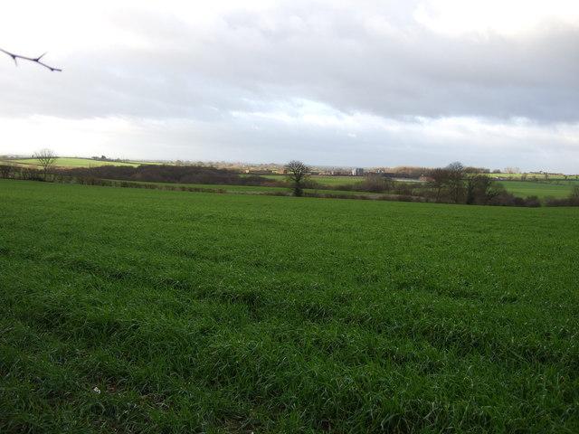 Farmland off the B6137