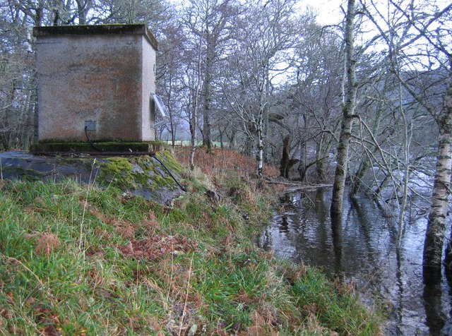 SEPA gauging station by the River Beauly