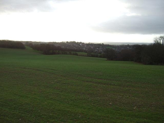 Rolling farmland near Garforth