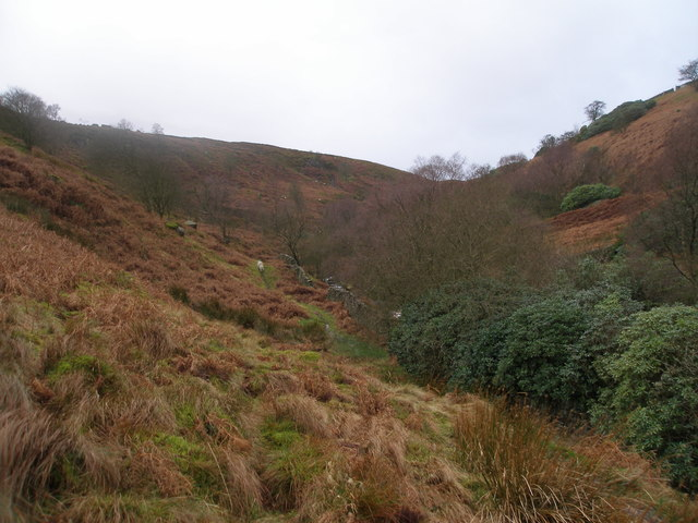Bronte Way in the upper Worth Valley