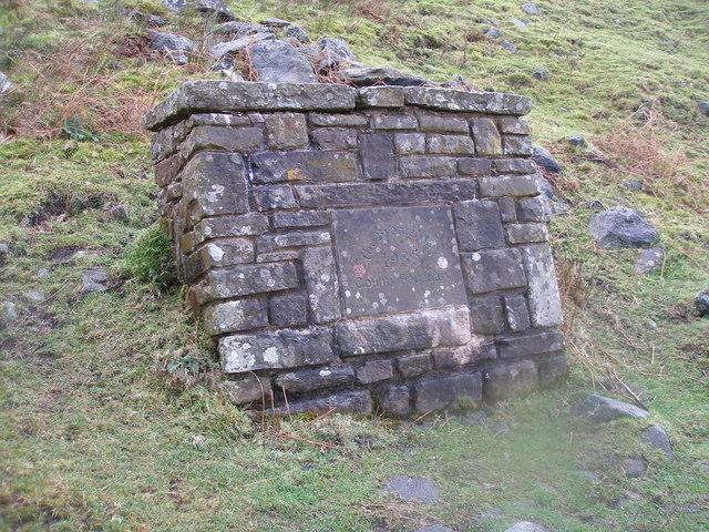 The Bronte Way - Boundary Stone