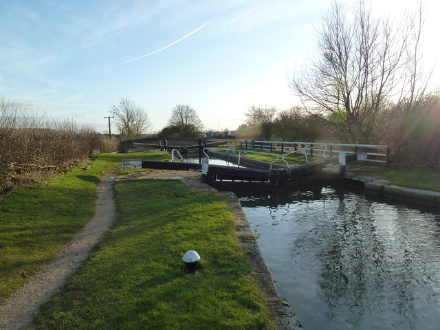 Lock 10, Grand Junction Canal - Buckby Lock