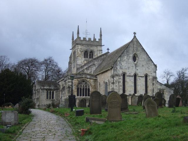 All Saints Church, Sherburn in Elmet