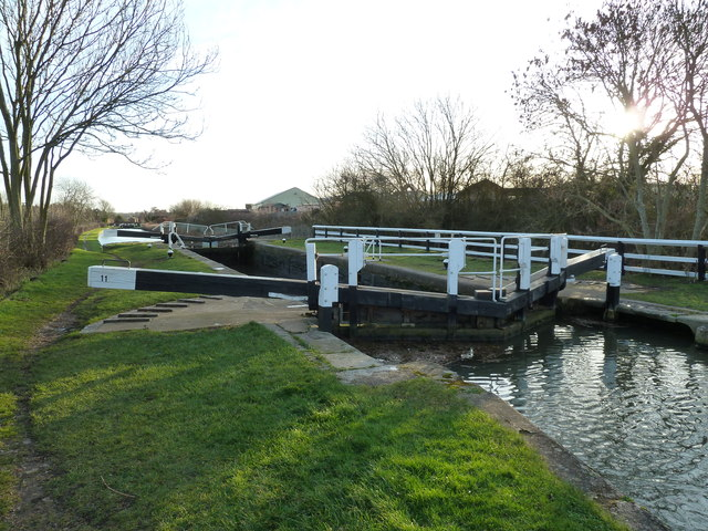 Lock 11, Grand Junction Canal - Buckby Lock
