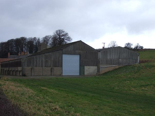 Farm buildings, Lower Cold Hill Farm