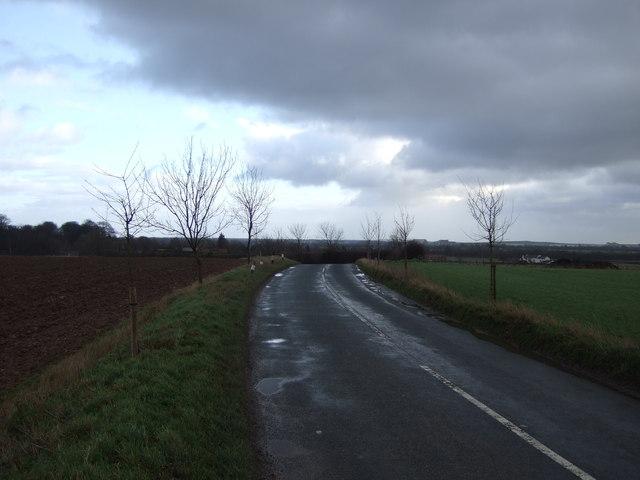 Headwell Lane towards Barkston Ash