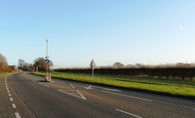 The A27 at Firle, East Sussex