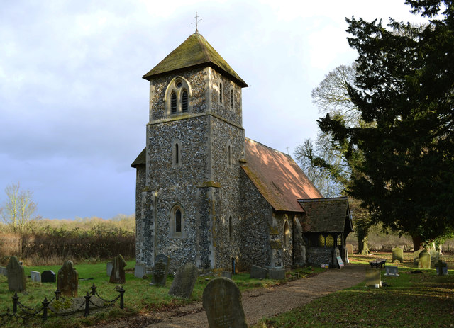 St John the Evangelist church, Bush End, Essex