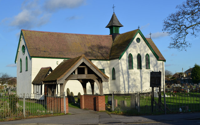 Heritage Centre, formerly St Katherine's church, Canvey Island, Essex