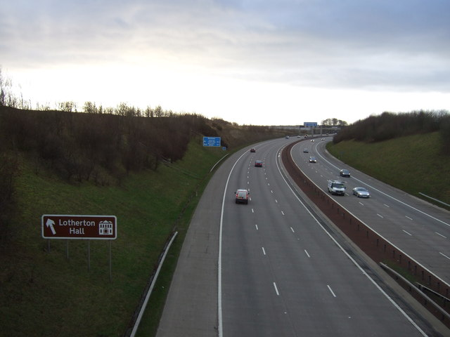 M1 southbound