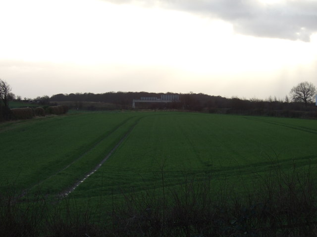 Farmland near the M1