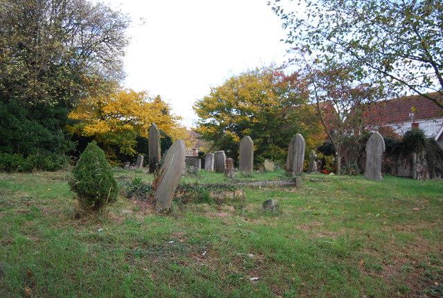 Burial ground, Lower Stoke