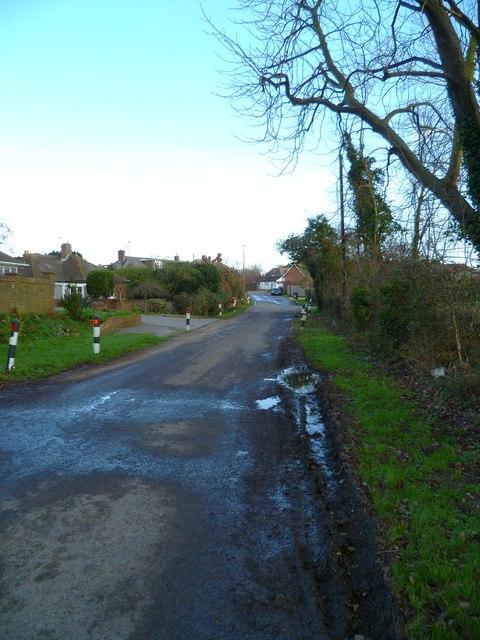Old Park Lane looking north