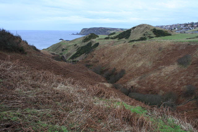 Gully near Gardenstown