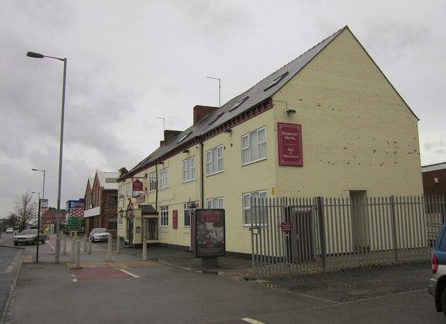 Embassy Hotel, Hedon Road, Hull
